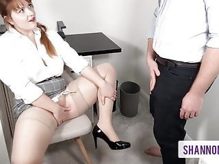 i'll do anything to keep my job - filthy office slut,,
