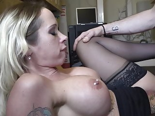 dutch secretary milf fucked in the office,,