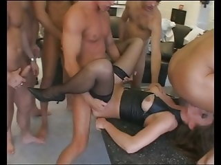 anal,facial,stockings